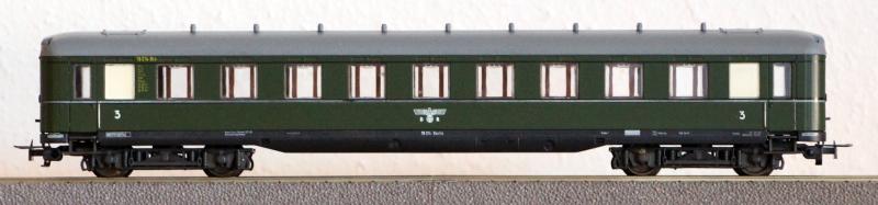 Die Einheits-Schnellzugwagen als H0-Modelle Li833010