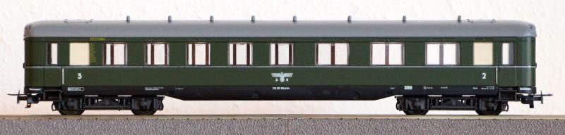 Die Einheits-Schnellzugwagen als H0-Modelle Li834010