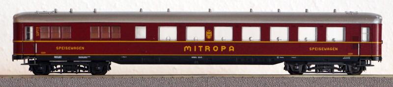 Die Einheits-Schnellzugwagen als H0-Modelle Li836010