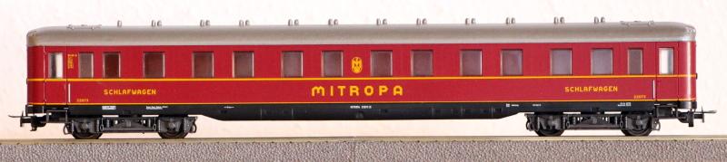 Die Einheits-Schnellzugwagen als H0-Modelle Li837010