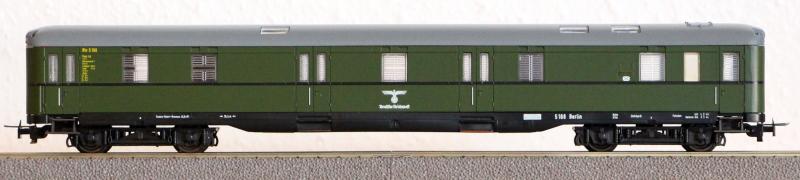 Die Einheits-Schnellzugwagen als H0-Modelle Li838010