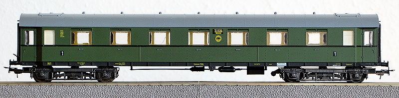 Die Einheits-Schnellzugwagen als H0-Modelle Li841010
