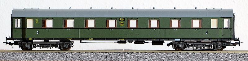 Die Einheits-Schnellzugwagen als H0-Modelle Li844010