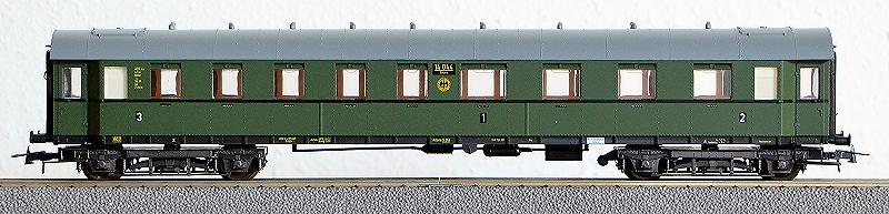 Die Einheits-Schnellzugwagen als H0-Modelle Li845010