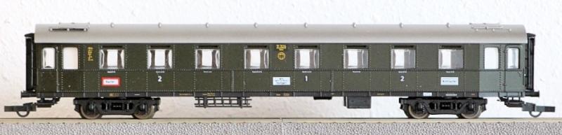Die Einheits-Schnellzugwagen als H0-Modelle Lm149710