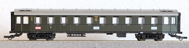 Die Einheits-Schnellzugwagen als H0-Modelle Lm149711