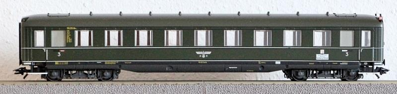 Die Einheits-Schnellzugwagen als H0-Modelle Ma432512