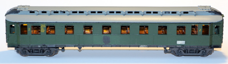 Bau eines ABC4ü-23 der Saar-Eisenbahn (H0) Modell10