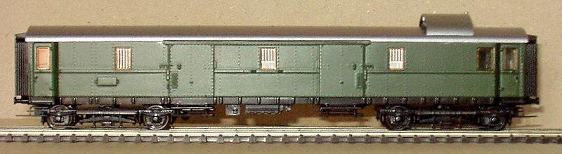 Die Einheits-Schnellzugwagen als H0-Modelle Mzi-pw10
