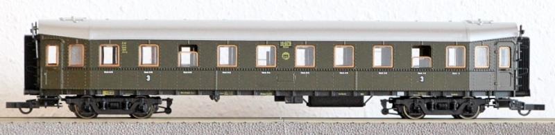 Die Einheits-Schnellzugwagen als H0-Modelle Rc454412