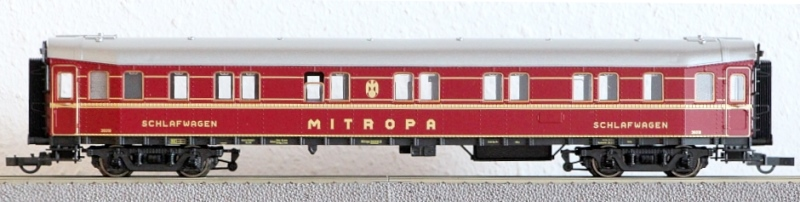 Die Einheits-Schnellzugwagen als H0-Modelle Rc454413
