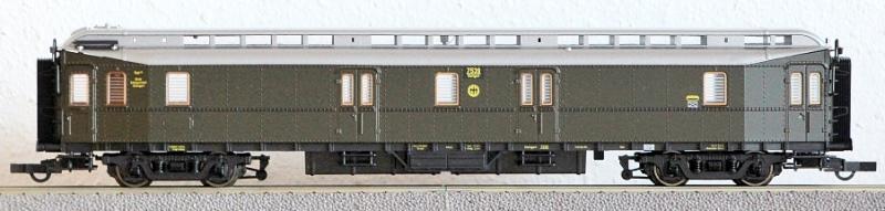 Die Einheits-Schnellzugwagen als H0-Modelle Rc454414