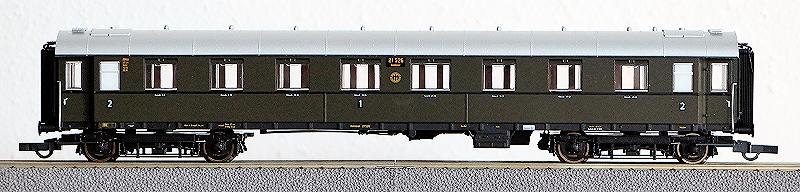 Die Einheits-Schnellzugwagen als H0-Modelle Rc456810