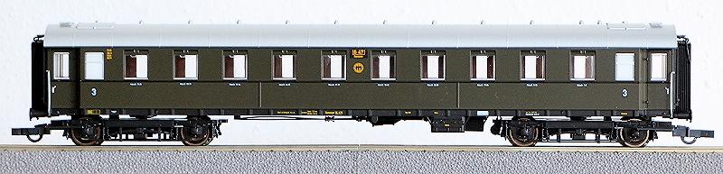 Die Einheits-Schnellzugwagen als H0-Modelle Rc456811