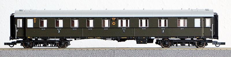 Die Einheits-Schnellzugwagen als H0-Modelle Rc456812