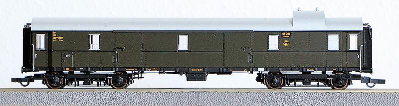 Die Einheits-Schnellzugwagen als H0-Modelle Rc456813