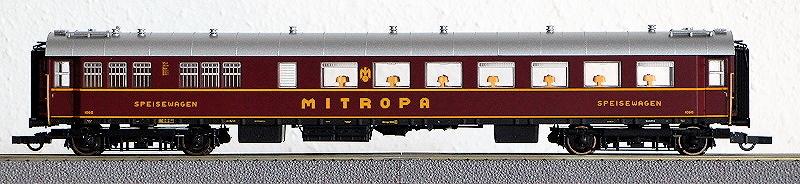 Die Einheits-Schnellzugwagen als H0-Modelle Rc456815