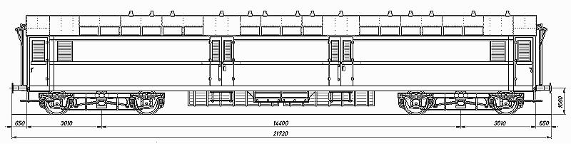 Die Einheits-Schnellzugwagen als H0-Modelle Skizze14