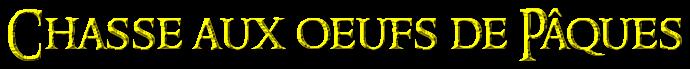 Présentation & Solution de Jeu : Chasse aux œufs de Pâques Coolte26