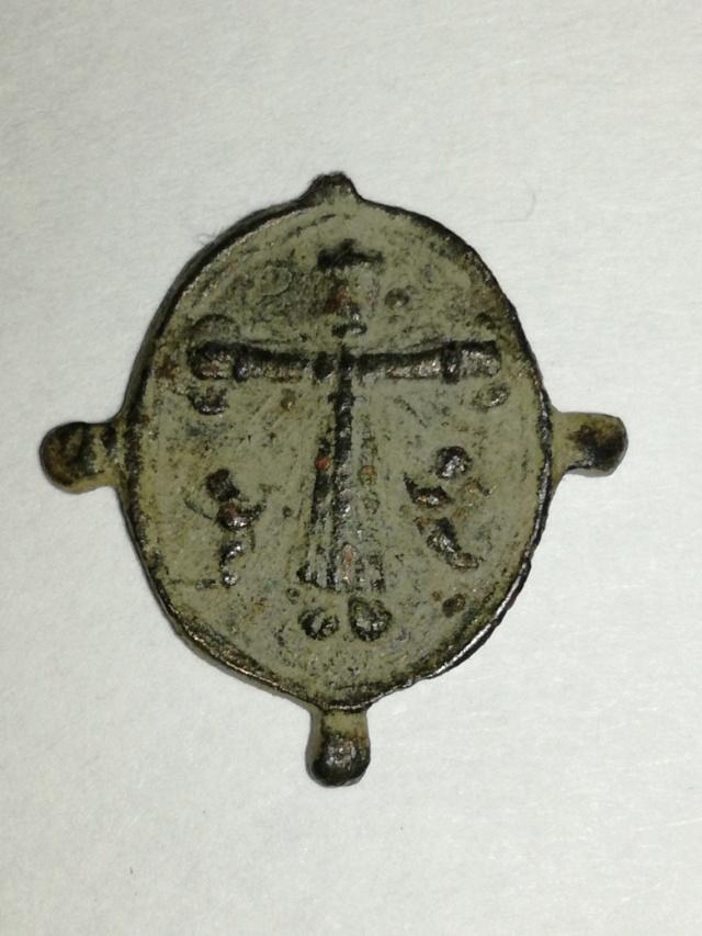 N.S. de Loreto / Cristo de Sirolo S. XVII Medall20