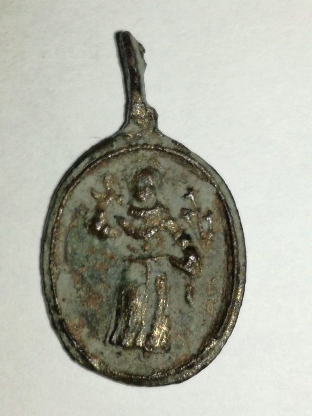 S. Antonio de Padua / SS. Sacramento  S. XVII Medall22