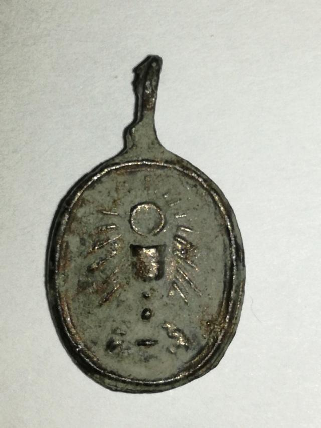 S. Antonio de Padua / SS. Sacramento  S. XVII Medall23