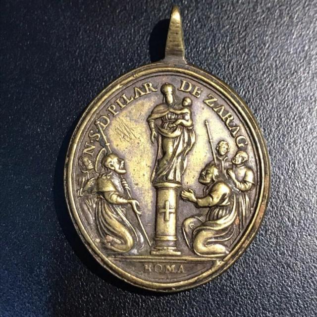 Ntra. Sra. del Pilar de Zaragoza / San Benito de Nursia, s. XVIII Virgen10