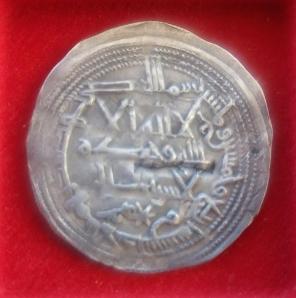 Dírham del 254 H, al-Ándalus, Muhammad I 156a-m12