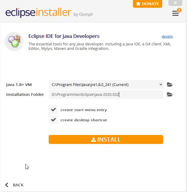 Installer Eclipse IDE 7i0gbu10