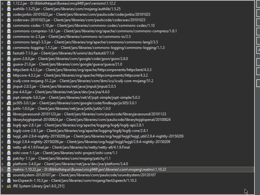 Récupérer les sources de Minecraft 1.12.2 Cb9aac10