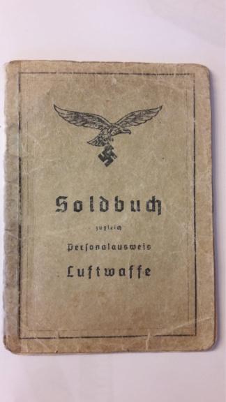 Soldbuch Luftwaffe 20201080