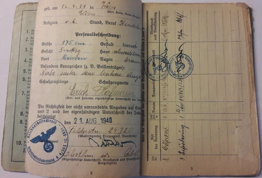 Soldbuch Luftwaffe 20201082