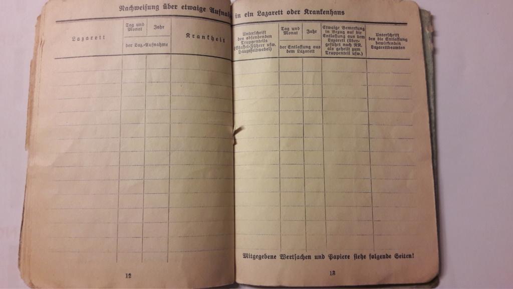 Soldbuch Luftwaffe 20201091