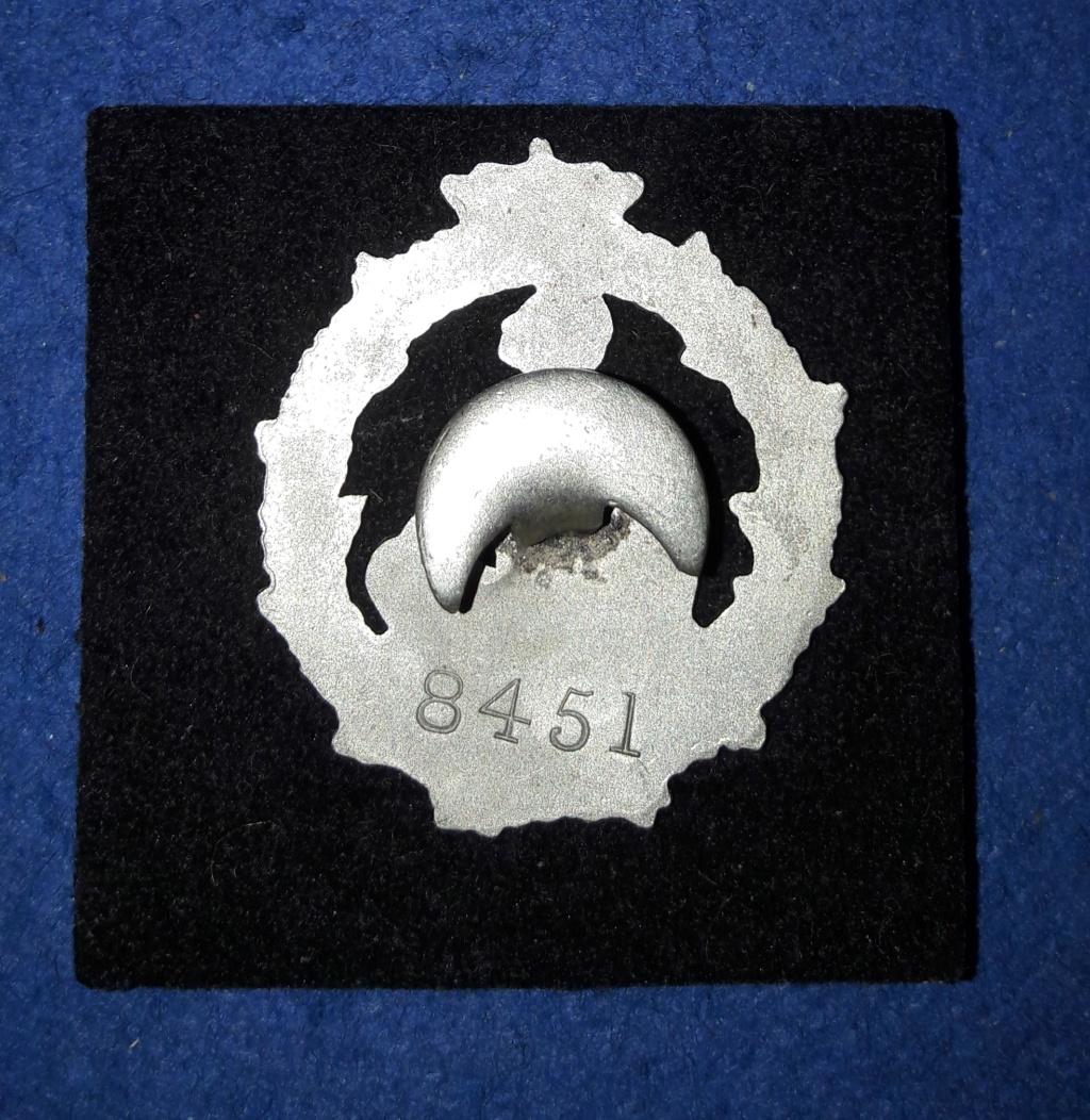 Insigne de soldat blessé WW1. Soldat Belge Hors Combat 20201179
