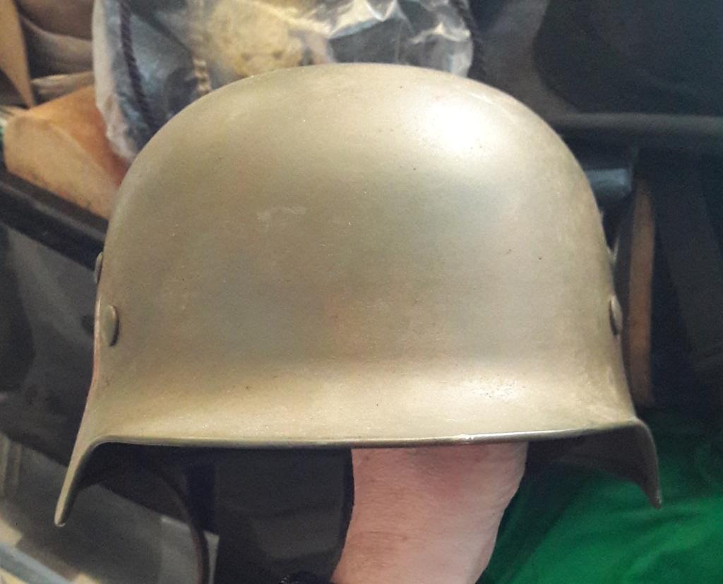 Authentification et estimation de ce casque allemand WW2  20201268