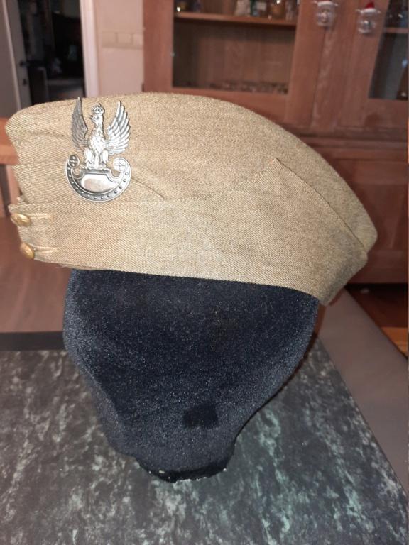 Field Cap avec aigle polonais WW2 20201295