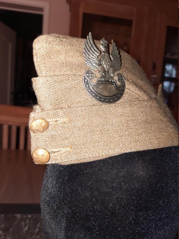 Field Cap avec aigle polonais WW2 20201297