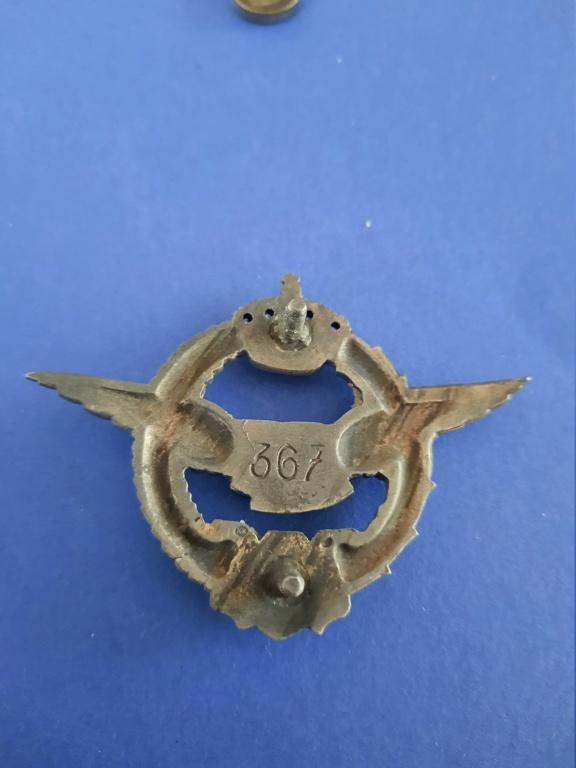 Badge de pilote WW2 Royal Yugoslavia Air force 20210226