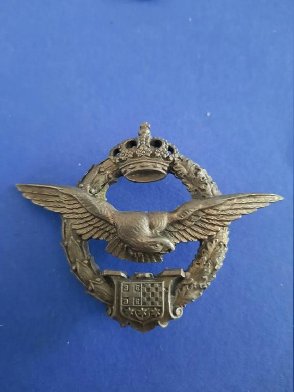 Badge de pilote WW2 Royal Yugoslavia Air force 20210227