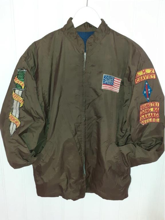 """veste """"coupe vent"""" souvenir de la guerre du Vietnam 20201110"""