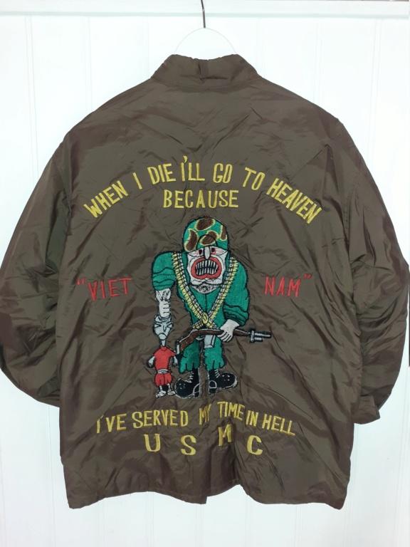 """veste """"coupe vent"""" souvenir de la guerre du Vietnam 20201111"""