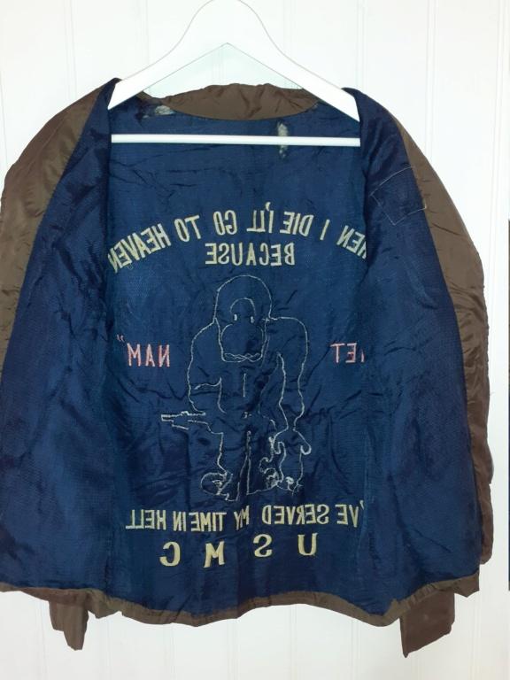 """veste """"coupe vent"""" souvenir de la guerre du Vietnam 20201112"""