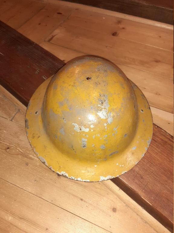 coque de casque type GB / couleur jaune 20210910