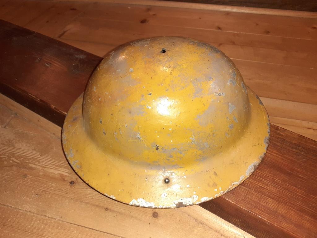 coque de casque type GB / couleur jaune 20210911