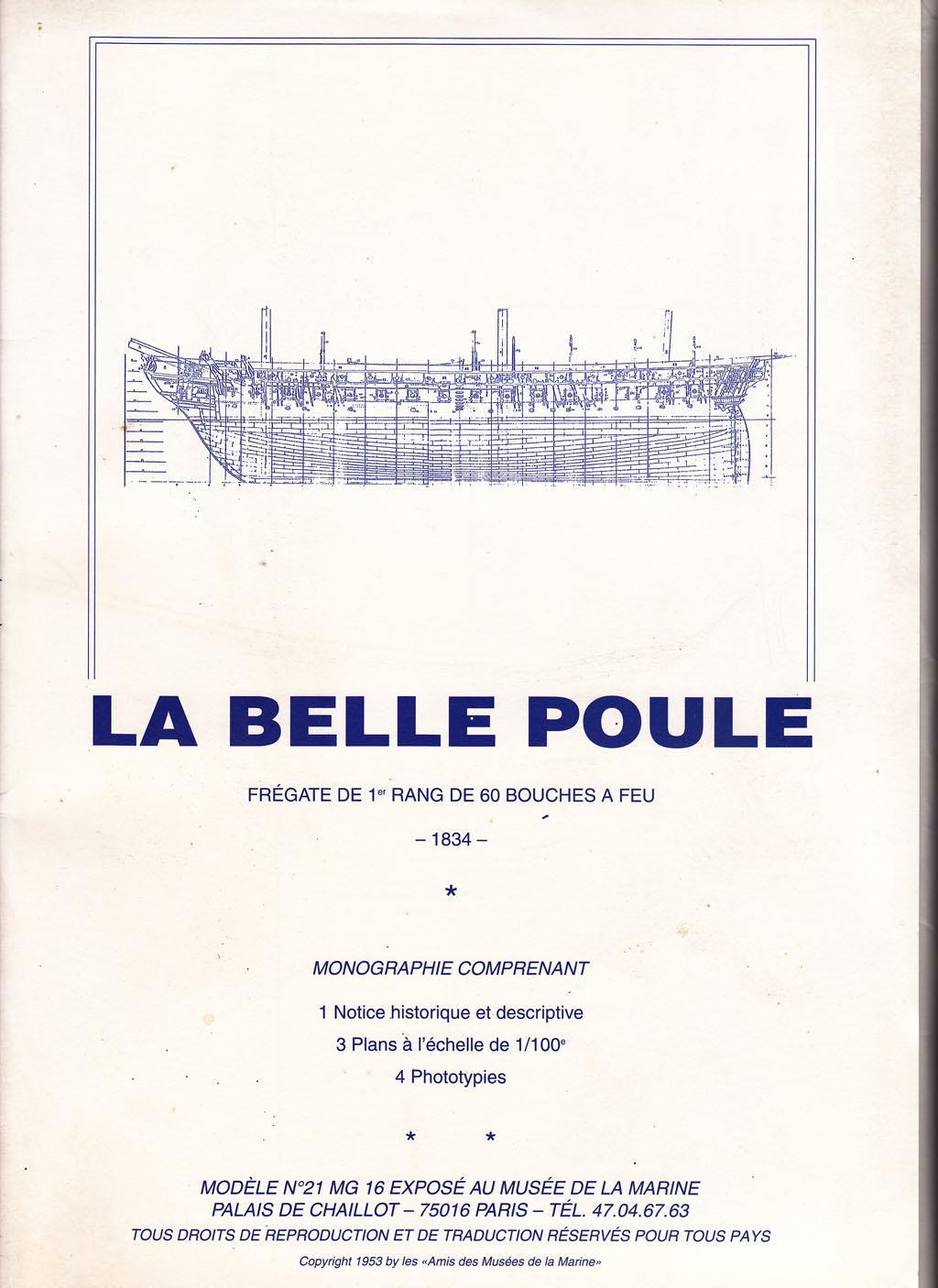 Frégate BELLE POULE 1/200ème Réf 80838 - Page 3 Doc_be10