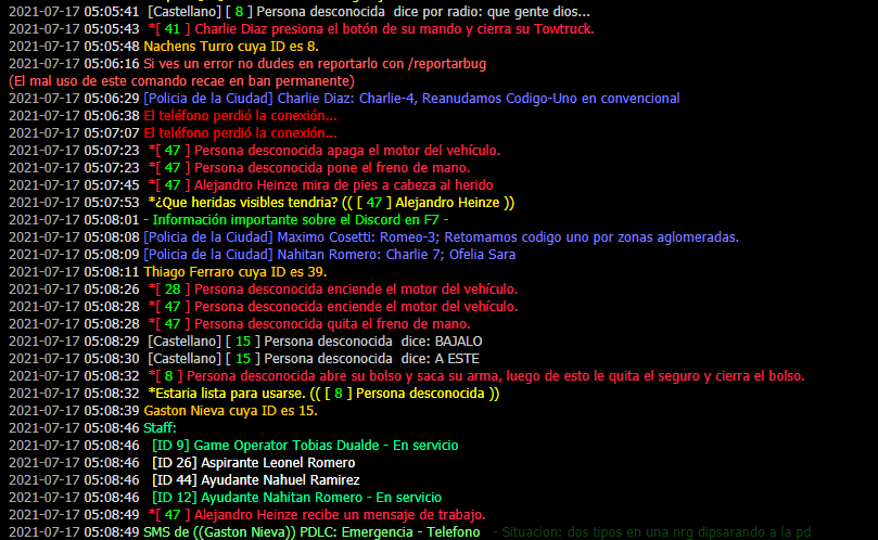 [REPORTE] Gastón Nieva y Nachens Turro. Captur49