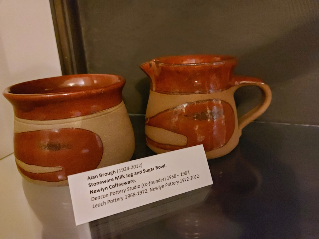 Alan Brough - Newlyn Pottery 20201213