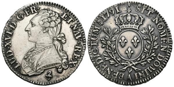 1/2 écu de Louis XVI 1791 2307_111