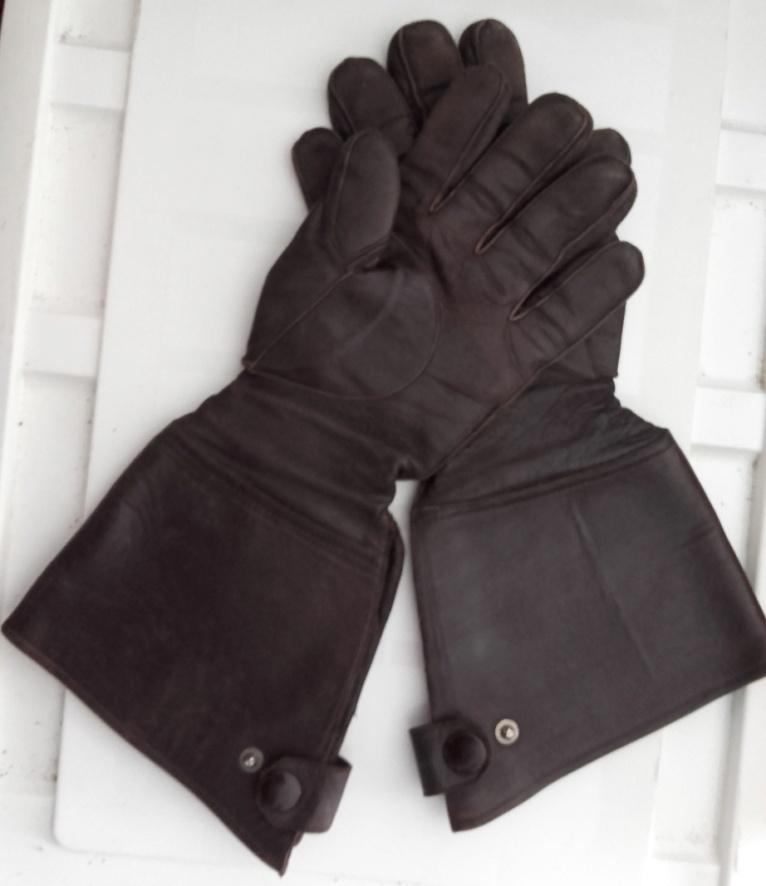 Gants de pilote ou de motocycliste 1939 20210412