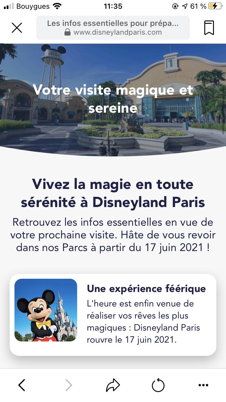 La fermeture de Disneyland Paris pendant la 2ème vague de COVID-19 [2020-2021] - Page 20 3f8efc10